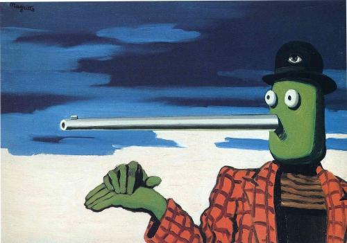 Magritte, l'Ellipse, 1948